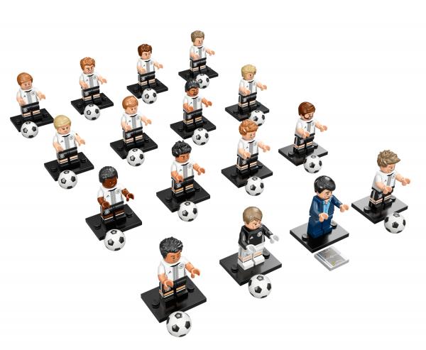 "LEGO® Minifiguren 71014 ""DFB - Die Mannschaft"" - alle 16 Figuren"