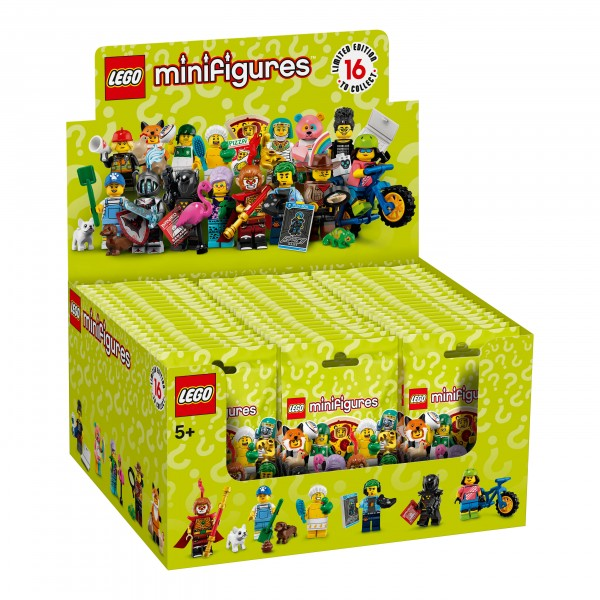 LEGO® 71025 Minifiguren Serie 19 Thekendisplay