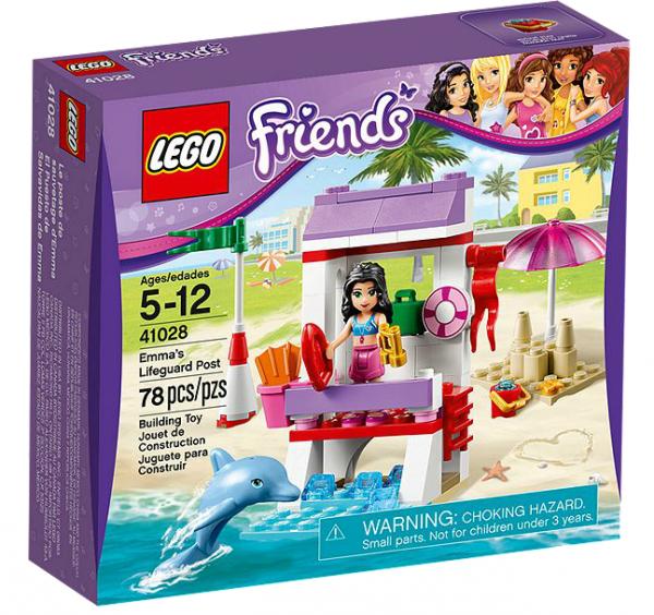 LEGO® Friends 41028 Emmas Einsatz am Strand