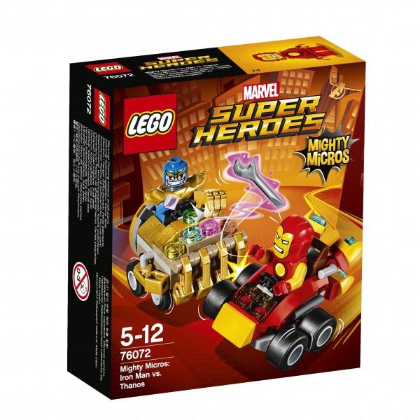 LEGO® Marvel Super Heroes 76072 Mighty Micros: Iron Man vs. Thanos