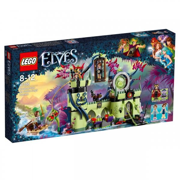 LEGO® Elves 41188 Ausbruch aus der Festung des Kobold-Königs