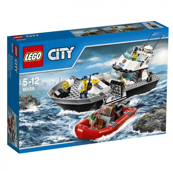 LEGO® CITY 60129 Polizei-Patrouillen-Boot
