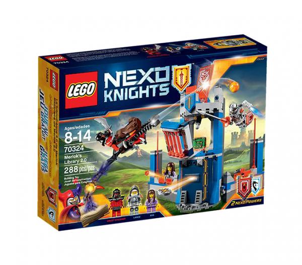 LEGO® Nexo Knights 70324 Merloks Bücherei 2.0