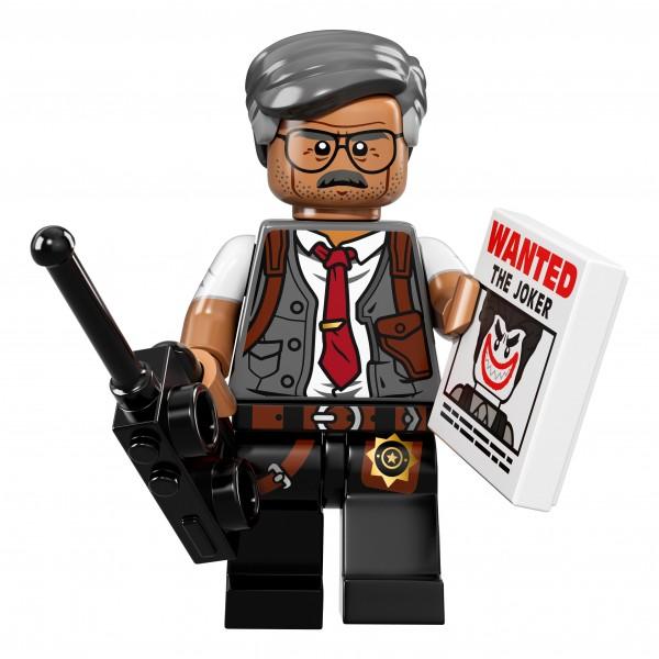 The LEGO® Batman Movie Minifigur - Commissioner Gordon 71017-07