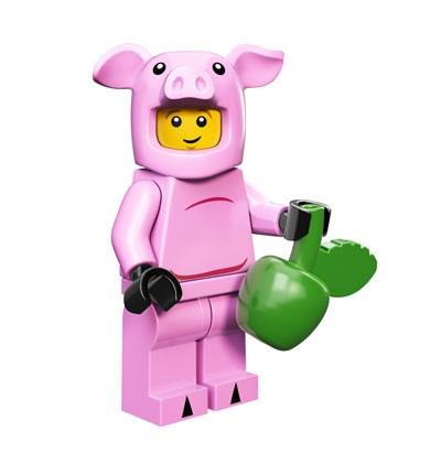 LEGO® Minifiguren Serie 12 - Pigsuit Guy 71007-10