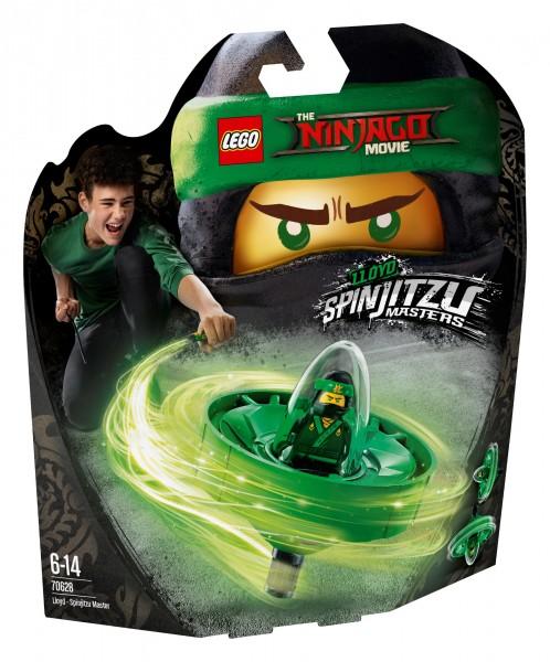 LEGO® Ninjago Movie 70628 Spinjitzu-Meister Lloyd