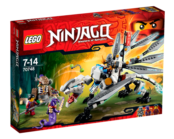 LEGO® Ninjago 70748 Titandrache
