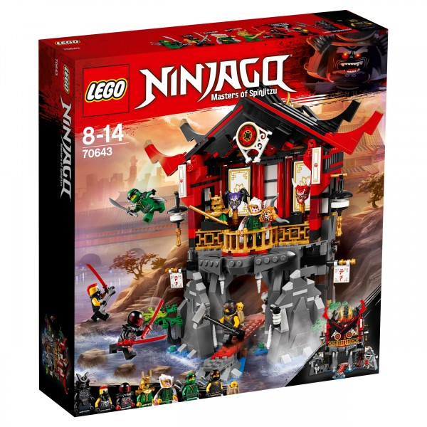 LEGO® Ninjago 70643 Tempel der Auferstehung