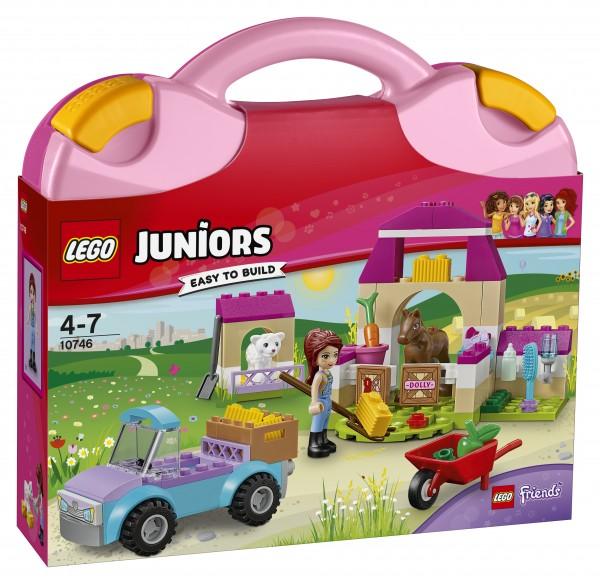LEGO® Juniors 10746 Mias Pferdestall-Koffer