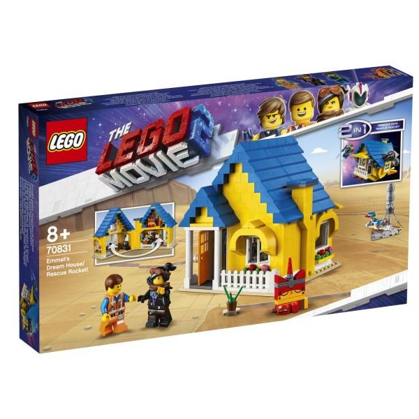 LEGO® Movie 2 - 70831 Emmets Traumhaus/Rettungsrakete!