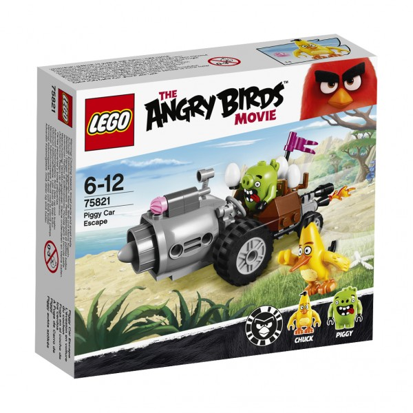LEGO® Angry Birds 75821 Piggy Car Escape