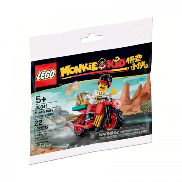 LEGO® Monkie Kid 30341 Monkie Kids Lieferfahrrad