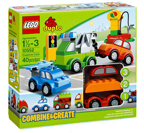 LEGO® DUPLO® 10552 Fahrzeug-Kreativset