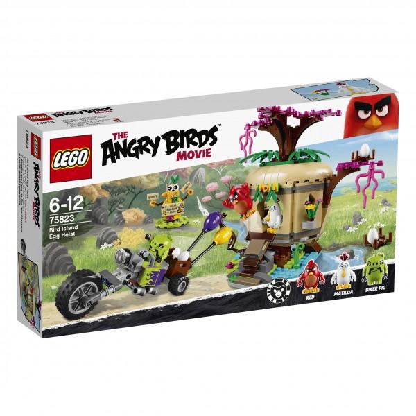 LEGO® Angry Birds 75823 Bird Island Egg Heist