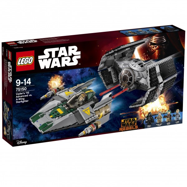 LEGO® Starwars 75150 Vader's TIE Advanced vs. A-Wing Starfighter