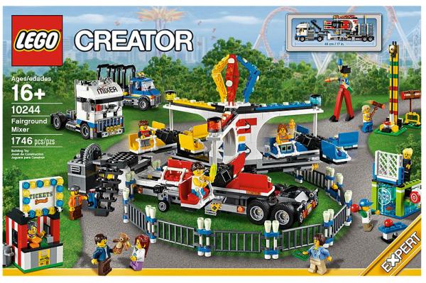 LEGO® 10244 Jahrmarkt-Fahrgeschäft