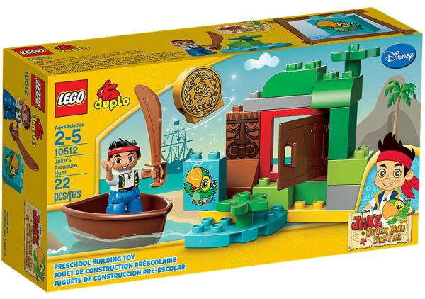 LEGO® DUPLO 10512 Jakes Schatzsuche