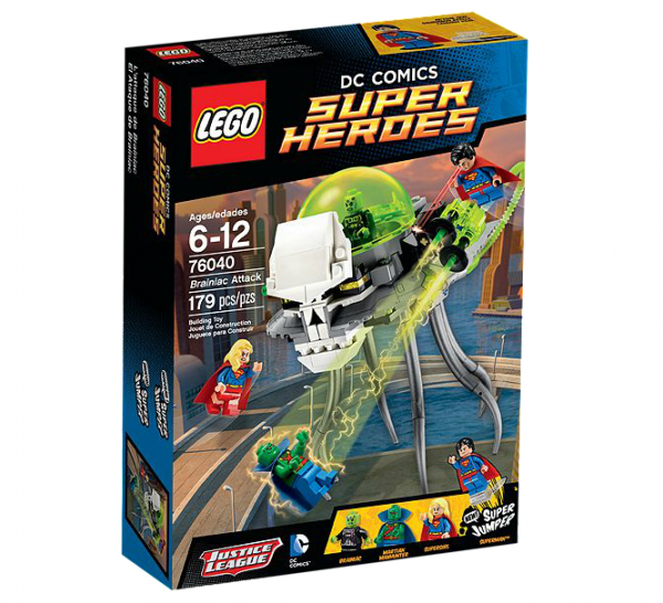 LEGO® DC Universe Super Heroes 76040 Brainiacs Attacke