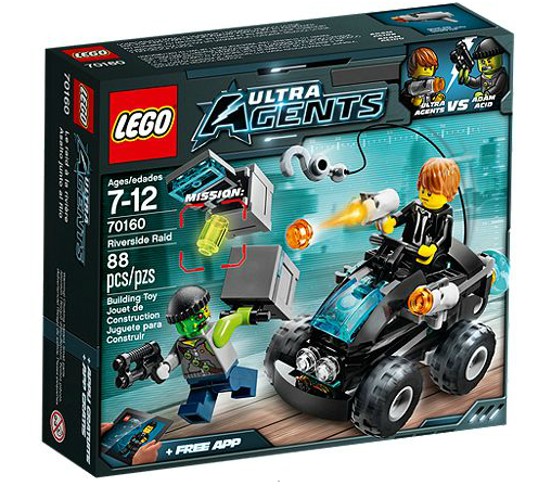 LEGO® Ultra Agents 70160 Agenten Buggy