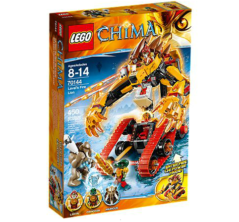 LEGO® Chima 70144 Lavals Feuerlöwe
