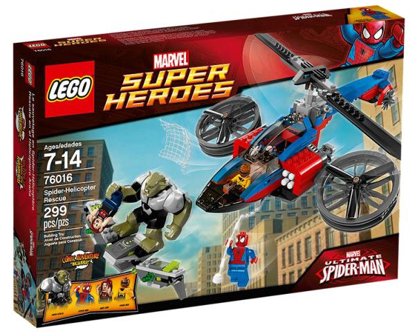 LEGO® Marvel Super Heroes 76016 Rettung mit dem Spider-Helikopter