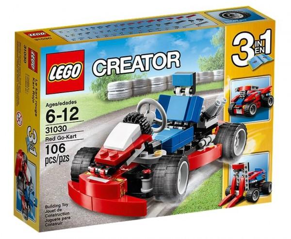 LEGO® Creator 31030 Rotes Go-Kart
