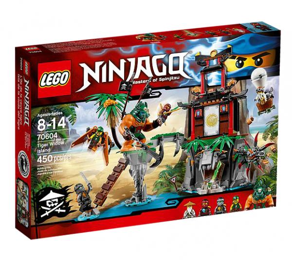 LEGO® Ninjago 70604 Schwarze Witwen-Insel