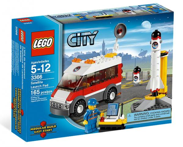 LEGO® CITY 3366 Satellitenstartrampe