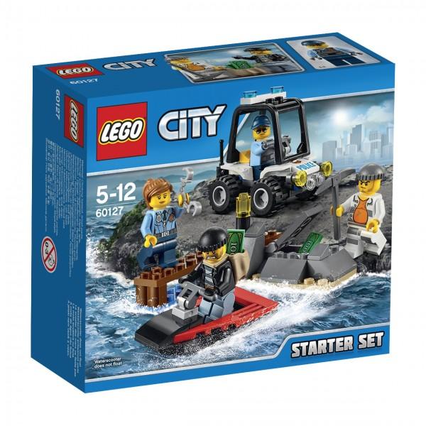 LEGO® CITY 60127 Gefängnisinsel-Polizei Starter-Set