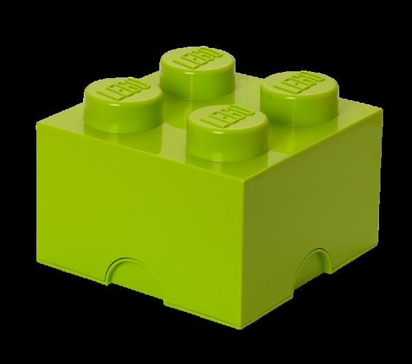 LEGO® Storage Brick 4 hellgrün