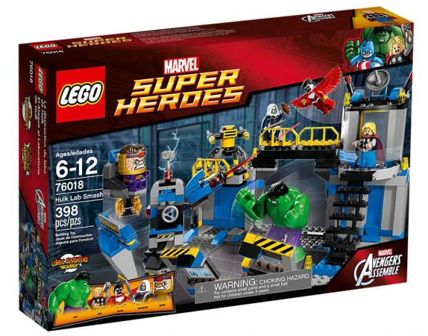 LEGO® Marvel Super Heroes 76018 Hulks Labor Smash