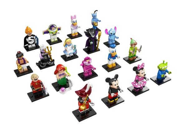 LEGO® Disney Minifiguren 71012 - alle 18 Figuren