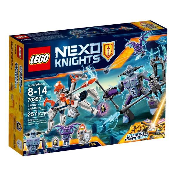 LEGO® Nexo Knights 70359 Lance gegen Lightning
