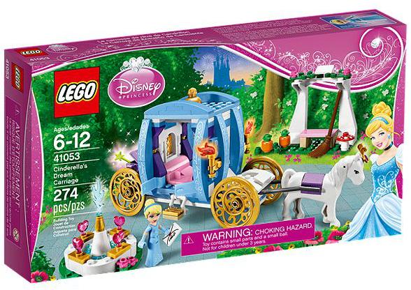 LEGO® Disney Princess 41053 Cinderellas verzauberte Kutsche