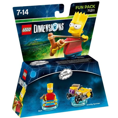 LEGO® Dimensions 71211 Fun Pack Bart Simpson