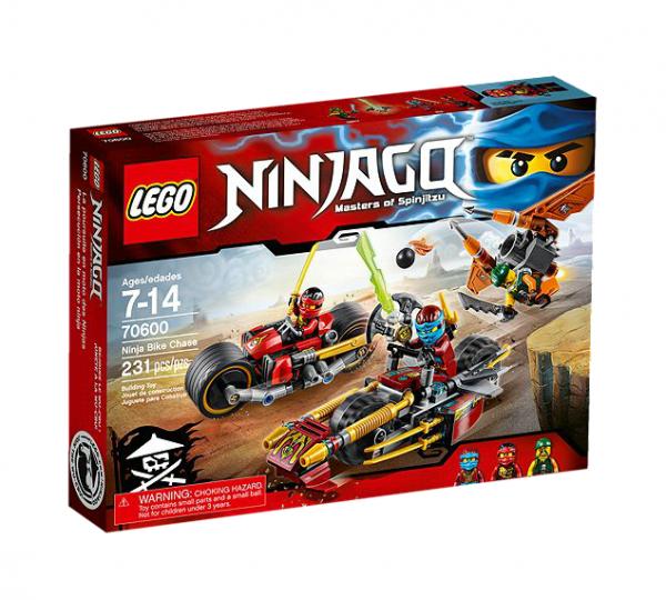 LEGO® Ninjago 70600 Ninja-Bike Jagd