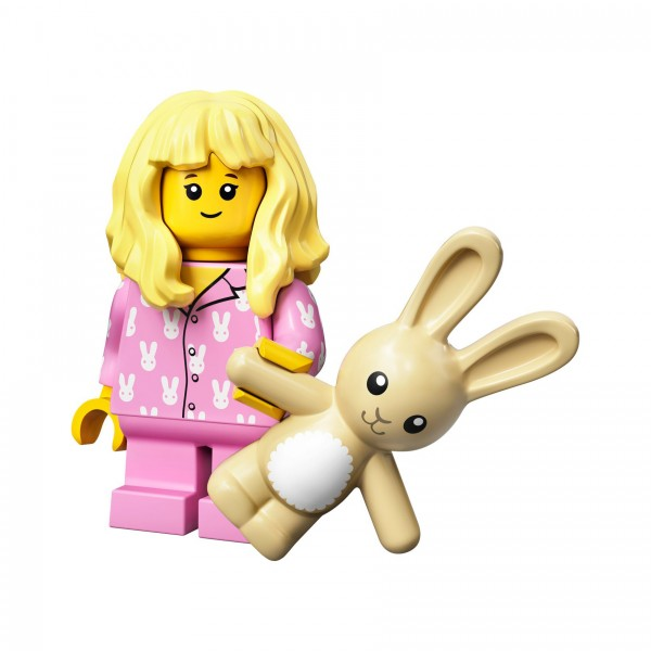 LEGO® Minifigur Serie 20 71027-15: Mädchen im Schlafanzug