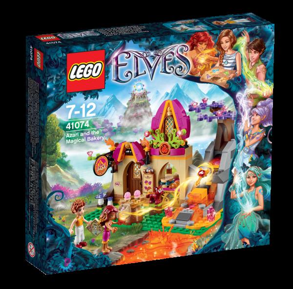 LEGO® Elves 41074 Azari und die Magische Bäckerei