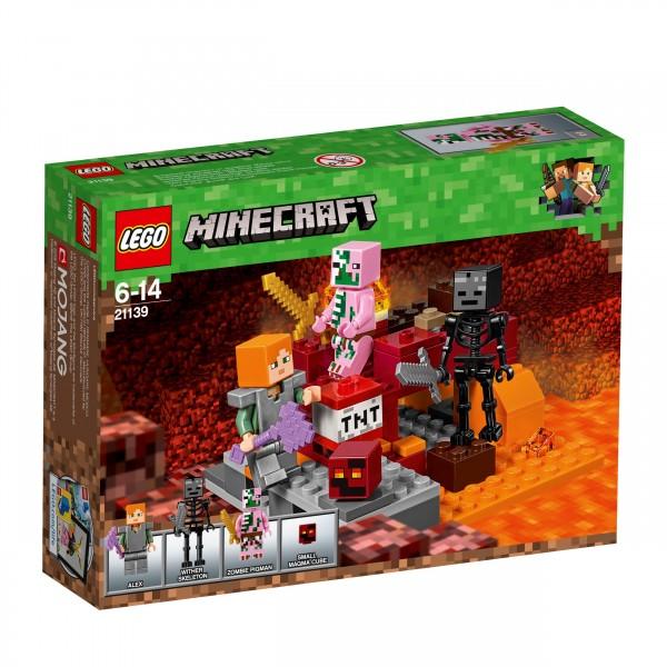 LEGO® Minecraft 21139 Nether-Abenteuer