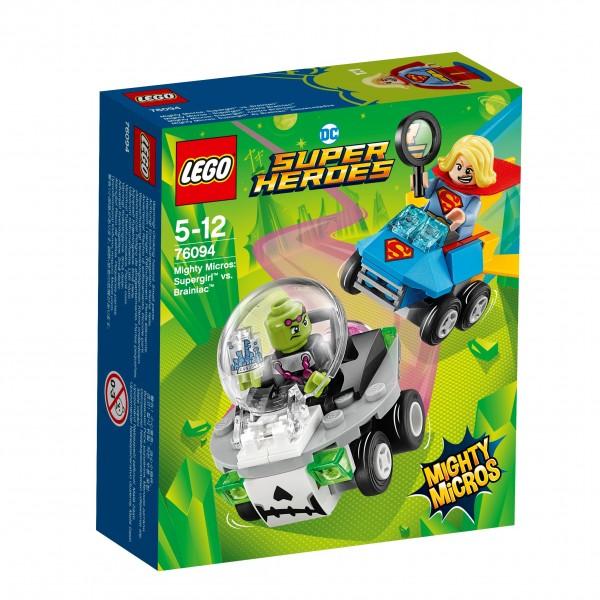 LEGO® DC Universe Super Heroes 76094 Mighty Micros: Supergirl vs. Brainiac