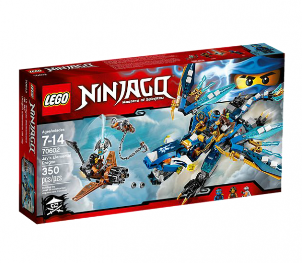 LEGO® Ninjago 70602 Jays Elementardrache