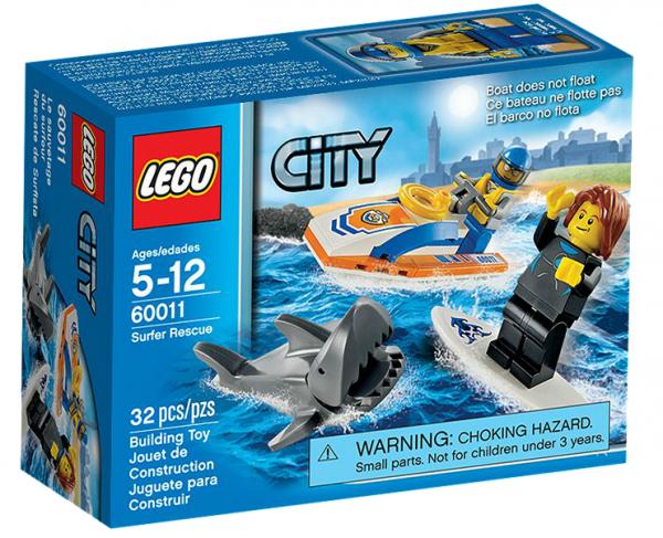 LEGO® CITY 60011 Rettung des Surfers