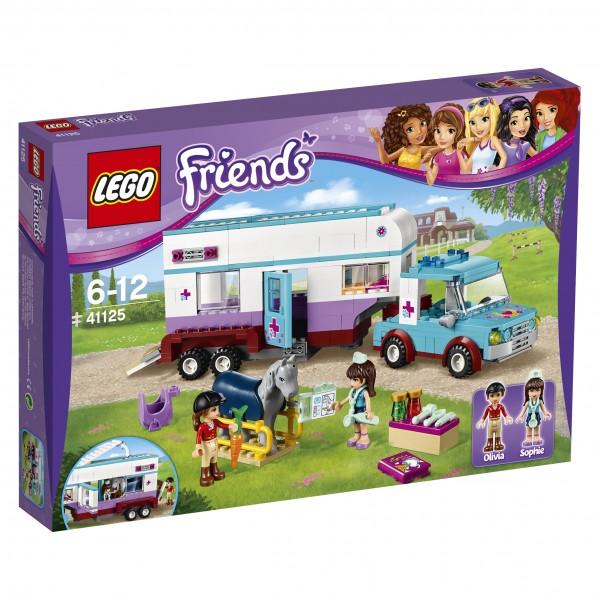LEGO® Friends 41125 Pferdeanhänger und Tierärztin