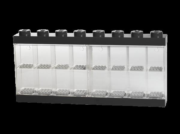 LEGO® Minifiguren Display für 16 Figuren (schwarz)