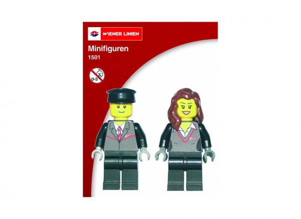derKlassiker 1501 Wiener Linien Minifiguren