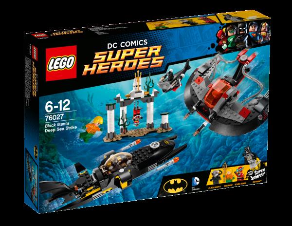LEGO® DC Universe Super Heroes 76027 Black Mantas Angriff in der Tiefsee