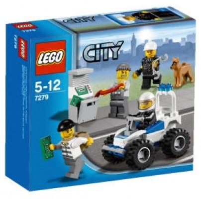 LEGO® CITY 7279 Polizei Minifigurensammlung