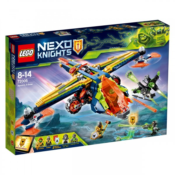 LEGO® Nexo Knights 72005 Aarons Armbrust