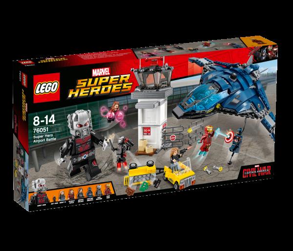 LEGO® Marvel Super Heroes 76051 Superhelden-Einsatz am Flughafen