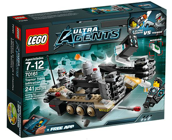 LEGO® Ultra Agents 70161 Tremors Kettenfahrzeug